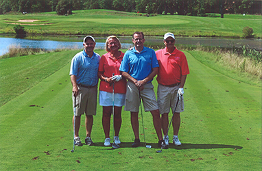 2016 HFPD Board members at the SSSRA Golf Outing.
