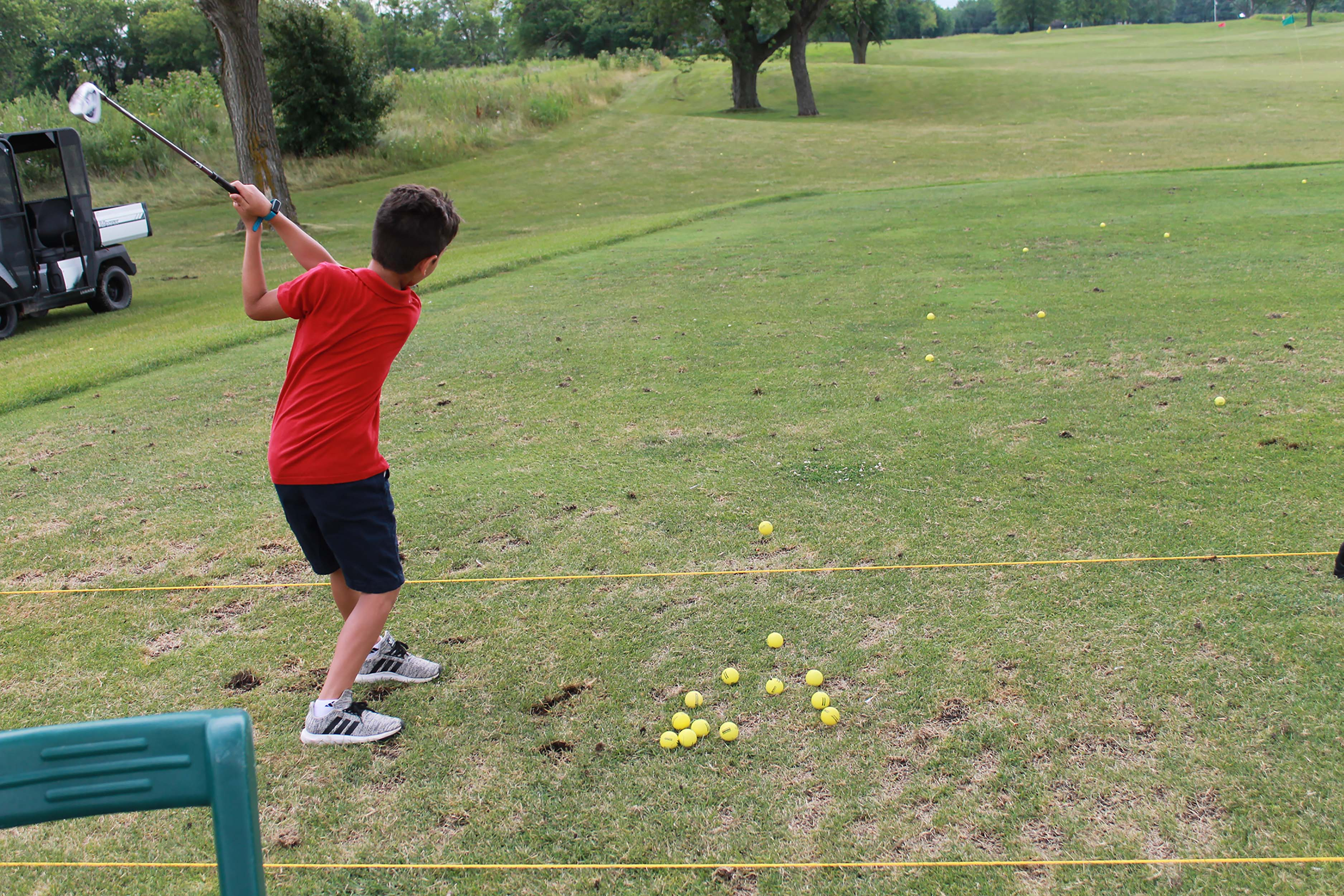 Youth golf camp.